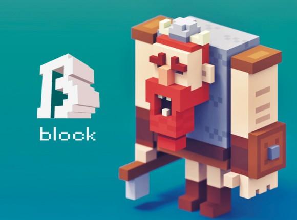 支持一键3D打印《Space Block》—打造VR乐高世界