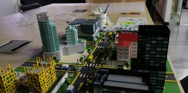 上海古北路小学使用VR重塑天山社区